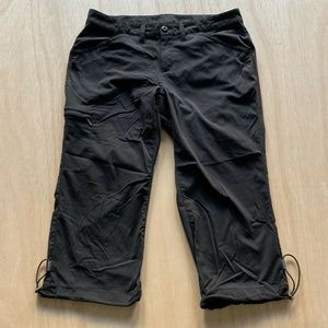 Eddie Bauer Hiking Travel Capri Pants Active Z 8